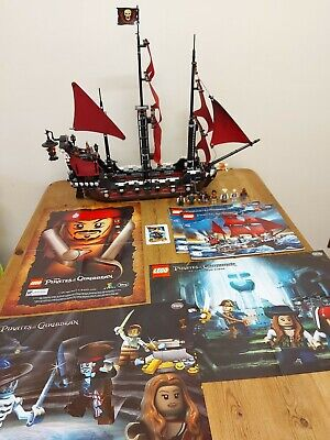 £299.99 • Buy Lego Pirates Of The Caribbean 4195 Queen Anne's Revenge ,complete, All Figs, Ins