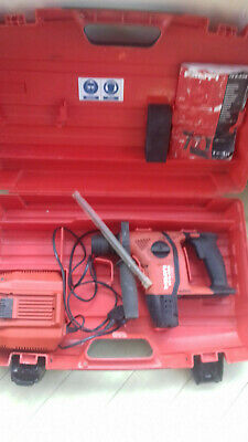 £185 • Buy Hilti TE 6-A-36 AVR SDS Cordless Rotary Hammer Drill +36V C4/36-350 Fast Charger