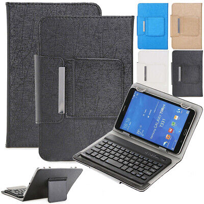 AU26.39 • Buy Universal Wireless Keyboard Leather Case Smart Cover For Amazon 7 10 Inch Tablet