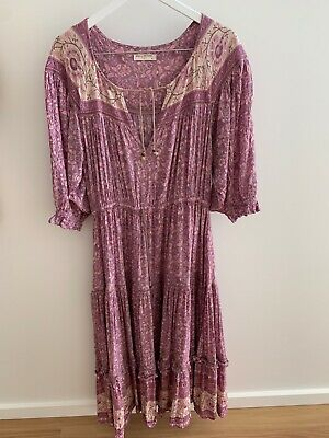 AU269 • Buy Spell And The Gypsy Collective Dahlia Gown Mulberry XL