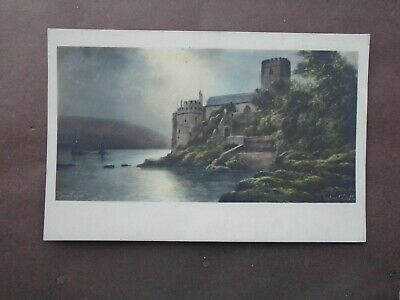 £0.75 • Buy DEVON:  A PICTURE OF DARTMOUTH CASTLE By ELMER KEENE - RP - UNPOSTED