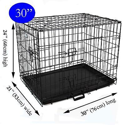 £15 • Buy 2NDS Easipet 30' Black Metal Dog/Puppy Cage 7902