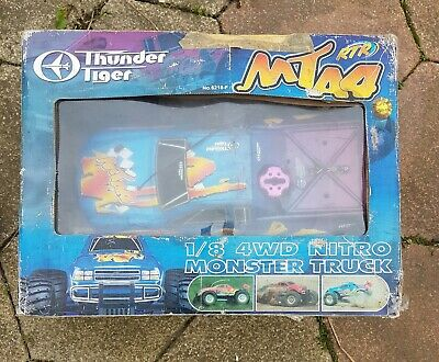 £106 • Buy Thunder Tiger MTA4 1/8 Scale 4wd Nitro Monster Truck S28 Engine