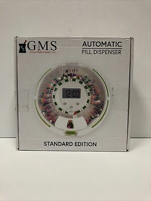 £43 • Buy GMS 28 Day Automatic Pill Dispenser Dosage Reminder For Up To 6 Alarms READ!!