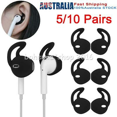 AU8.95 • Buy 5/10 Pairs Silicone Ear Hooks Skin Cover For Apple AirPods AirPod Headphones E
