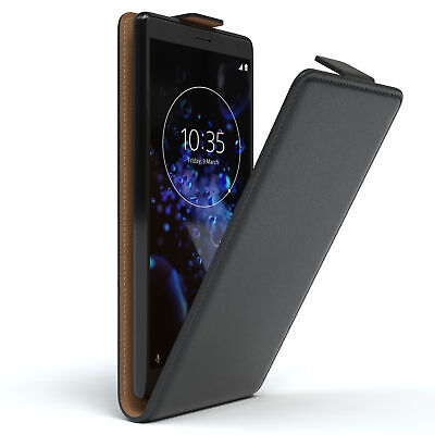 AU9.34 • Buy Case For Sony Xperia XZ2 Flip Protective Case Phonecase Cover Black