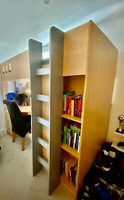 £80 • Buy High Sleeper Bed With Desk And Wardrobe
