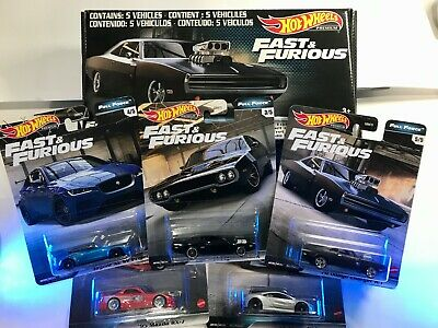 AU59.69 • Buy Hot Wheels PREMIUM - Fast & Furious - Full Force - Set Of 5 (Collectors Edition)