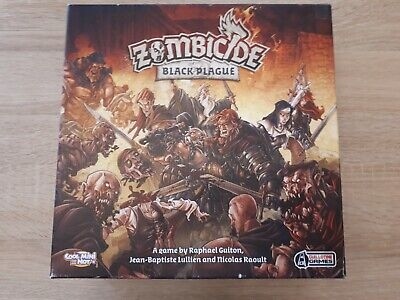 £65 • Buy Zombicide Black Plague Board Game Complete. Cards Sleeved.