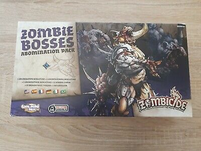 £25 • Buy Zombicide Black Plague Zombie Bosses Abomination Pack