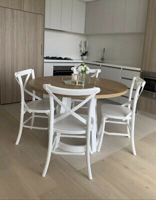 AU400 • Buy White Dining Chairs - Set Of 4 - GREAT CONDITION