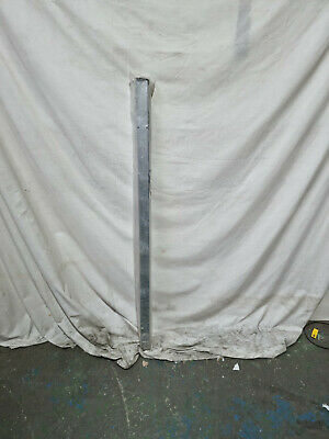 £24 • Buy Blank Flat Top Metal Gate Or Fence Post 50mm Square X 1400mm Long Galvanised