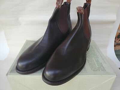 AU207.50 • Buy R M Williams Boots Size 10.5 G Chestnut Yearling Turnout - BRAND NEW