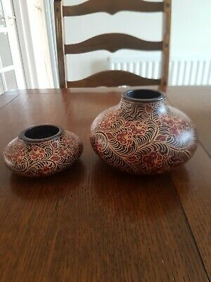 £9.95 • Buy Two Pre Owned Moroccan Tea Light Holders