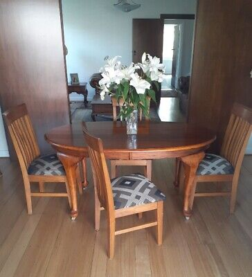 AU100 • Buy Dining Table Oval And 4 Chairs