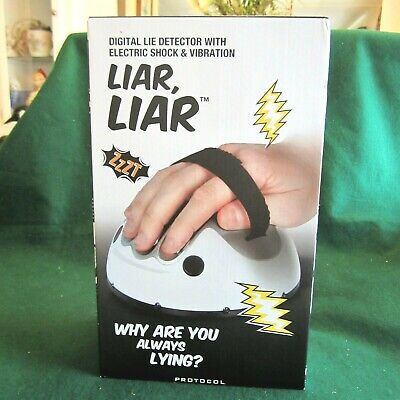 £5.77 • Buy Protocal  Liar, Liar  Digital Lie Detector With Electric Schock & Vibration New