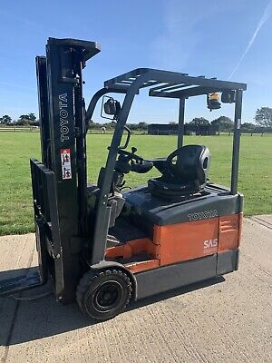 £5750 • Buy Toyota 1.5 Tonne Electric Forklift Truck Container Spec