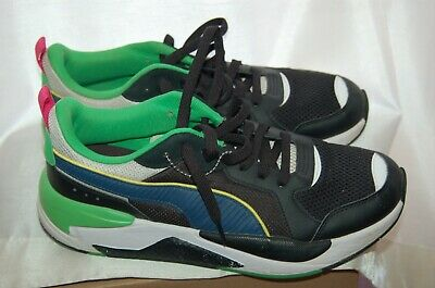 AU33.37 • Buy PUMA X-RAY MEN'S RUNNING SHOES  Size 10.5 Black/Blue/White/Red 372602-06