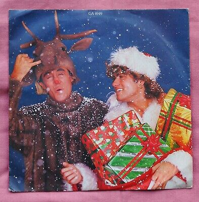 £0.99 • Buy WHAM! - Last Christmas / Everything She Wants (Epic GA4949) 1984 -picture Sleeve