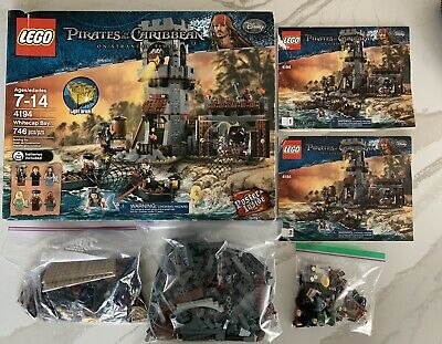 £71.79 • Buy Retired - Lego Pirates Of The Caribbean 4194 Whitecap Bay 100% Complete
