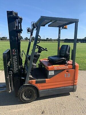 £4750 • Buy Toyota 1.3 Tonne Electric Forklift Truck