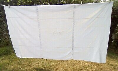 £17 • Buy French Vintage Linen Tablecloth