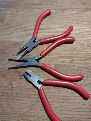 £2.99 • Buy Pliers Set Of 3 For Jewellery Or Small Tasks