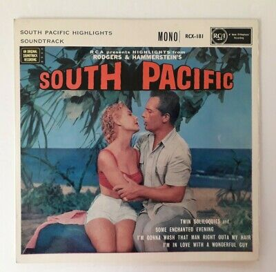 £0.49 • Buy Rodgers And Hammerstein, South Pacific, RCX-181, (7 Vinyl, EP, 1958), MUSICAL