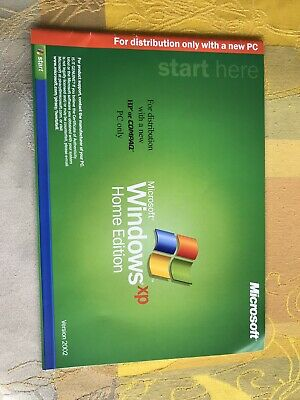 £1 • Buy Windows XP Home Edition Manual / Instruction Booklet Book Guide Version 2002