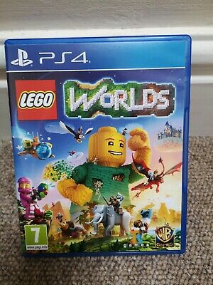 AU31.25 • Buy Lego Worlds PS4 - Kids Game For Sony PlayStation 4 Used