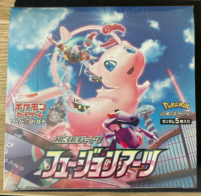 AU138.99 • Buy IN STOCK Pokemon Fusion Arts Japanese Sealed Booster Box Card Pack