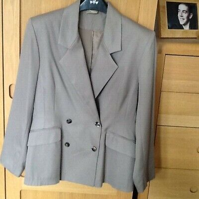£9.99 • Buy Double Breasted Fitted Jacket, Size 12