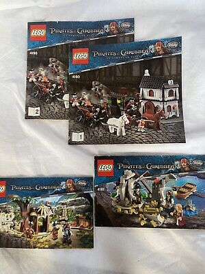 £1 • Buy Lego Pirates Of The Caribbean Instructions Only, 4181, 4182, 4193