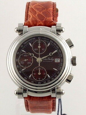 $1275 • Buy John Sterling Chrono Automatic Movement Valjoux 7750 Men's Watch