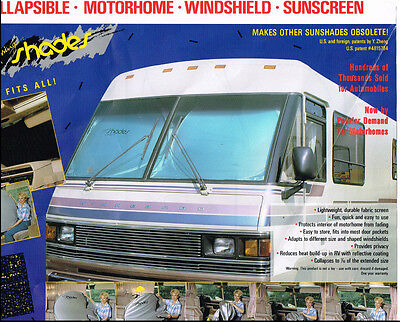 $39.99 • Buy Motor Home, RV, Motor Coach, Class A Window Shade- Extra Jumbo RV Sun Shade 1-PC