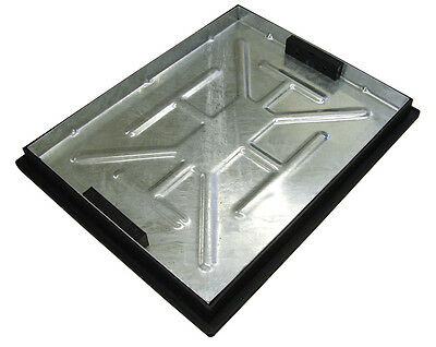 Recessed Manhole Cover And Frame 600x450x46mm (Sealed With Rubber Gasket) T11G3 • 54.95£