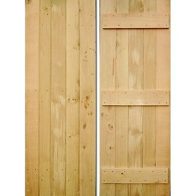 Hand Crafted Internal Oak Wooden Cottage Door • 234£