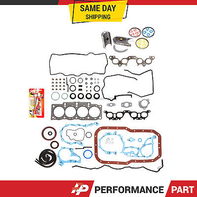 AU114.35 • Buy Fits Re-Ring Kit Gasket Bearings Rings Toyota 2.2 5SFE 90-96