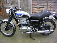 $ CDN407.10 • Buy Kawasaki   W650 Seat   - Cafe Racer Style -New .Also Available For The W800