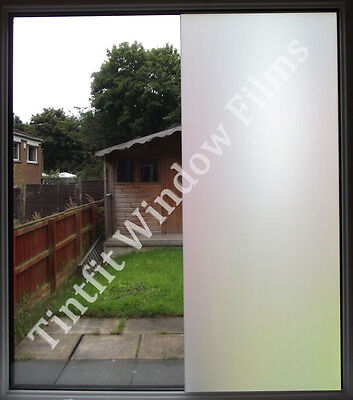 White Frost Privacy Frosted Window Film Matte Opal Etch Tinting Tint Glass Vinyl • 19.19£