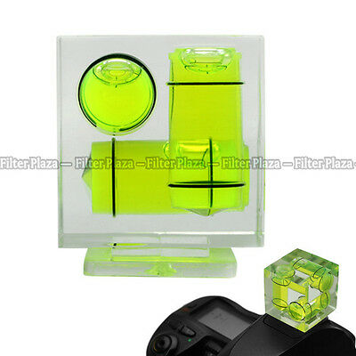 £2.67 • Buy Triple 3 Axis Bubble Spirit Level Hot Shoe For Canon Nikon Camera