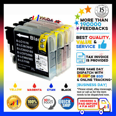 AU15.99 • Buy 10x NoN-OEM LC67 Ink Alternative For Brother MFC-J270W MFC-J410W MFC-J615W