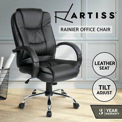 AU159.90 • Buy Artiss Office Chair Gaming Computer Chairs Executive Seating Home Work Black