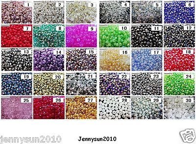 $ CDN1.84 • Buy Freeshipping 100Pcs Top Quality Czech Crystal Faceted Rondelle Beads 3x 4mm Pick