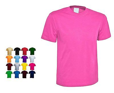 £5.99 • Buy Ladies Classic Loose Fit Short Sleeve T Shirts Size 6 To 32 In 15 + Colours