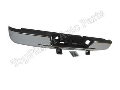$288.50 • Buy For 2002-2008 Dodge Ram Rear Step Bumper Chrome With Pad Out Bracket Lic Lamp