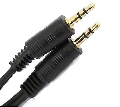 £2.17 • Buy  Short 10cm To   30cm 3.5mm Jack To Jack Audio  Lead Gold Stereo Aux Cable Ipod