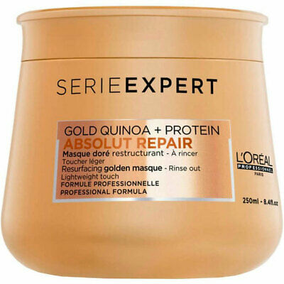 L'Oreal Serie Expert Resurfacing Golden Absolut Repair Mask 250ml  • 14.95£