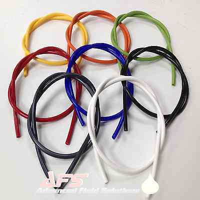 £2.81 • Buy Silicone Vacuum Vac Hose Pipe Tube 3mm 4mm 5mm 6mm 7mm 8mm 9mm 10mm All Colours