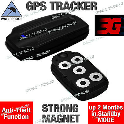 AU106.95 • Buy 3G GPS Tracker Tough Waterproof Anti Vehicle Car Theft Strong Magnet Live Case
